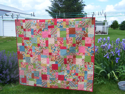 8 Hours and Counting…Disappearing Nine Patch - Jo's Country Junction : crazy nine patch quilt - Adamdwight.com