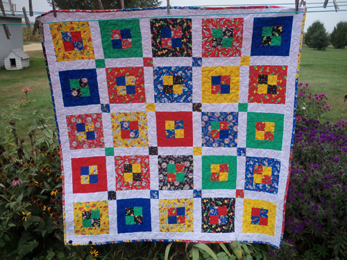 Matthew's Quilt is Finished! | Jo's Country Junction : sashing on quilts - Adamdwight.com
