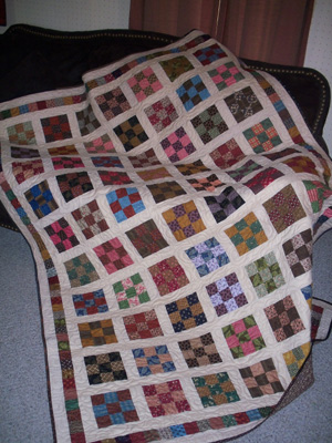 Nine-Patch Quilts | AllPeopleQuilt.com - Home