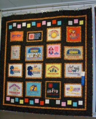 T-Shirt Quilts of Texas/Shadywood Quilts - blogspot.com