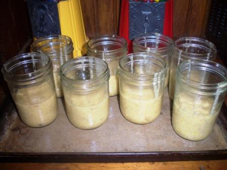 BananaBreadinaJar-dough