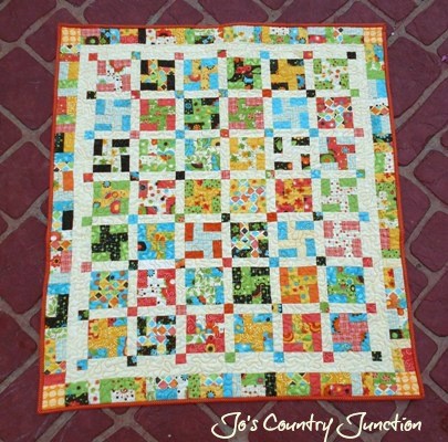 Friday Finish Pinwheel Pizzazz Baby Quilt And Tutorial