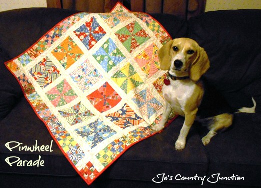 Friday Finish Pinwheel Parade Free Pattern Too Jo S Country