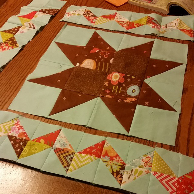 I'm working on a free pattern!  #joscountryjunction #quilting #patchwork