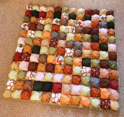 Free Pattern For Baby Puff Quilt : FREE Quilt Tutorials