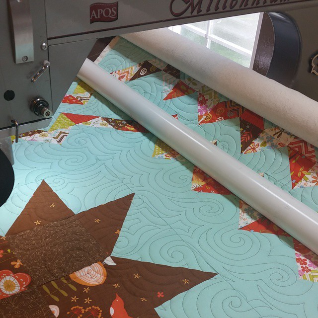 Looking good!! #joscountryjunction  #quilting  #lovemyjob