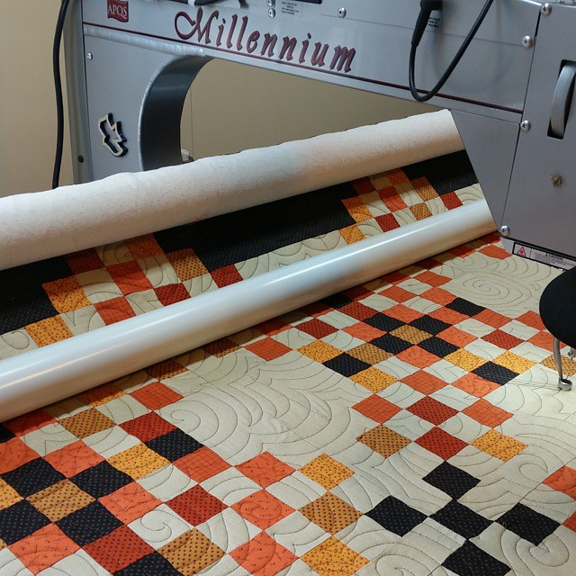 Check out and see what is on my quilting frame.  #joscountryjunction  #longarmquilting #quilting