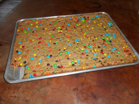 flourless-monster-cookie-bars