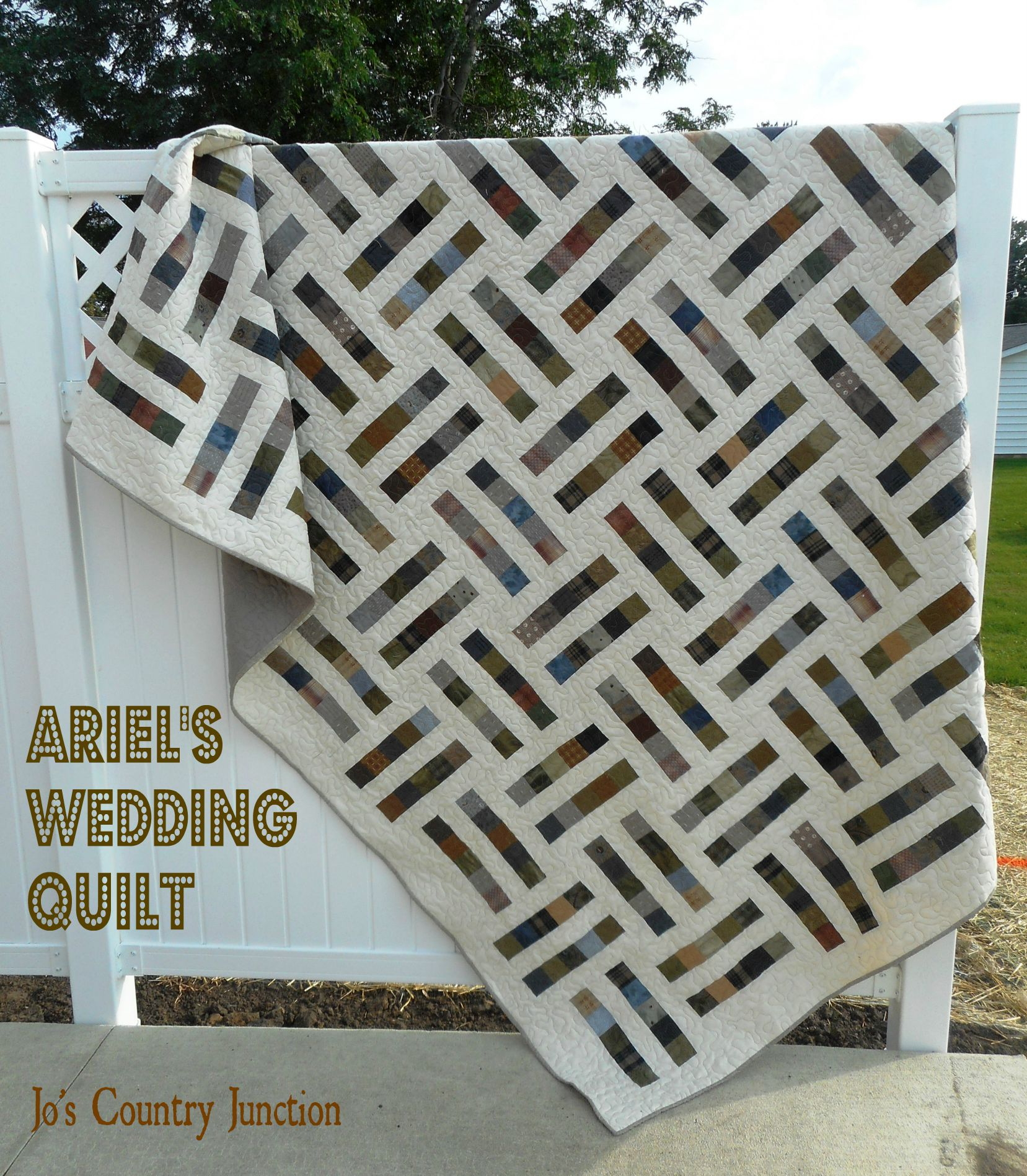 Ariel\'s Wedding Quilt: The Free Printable Pattern