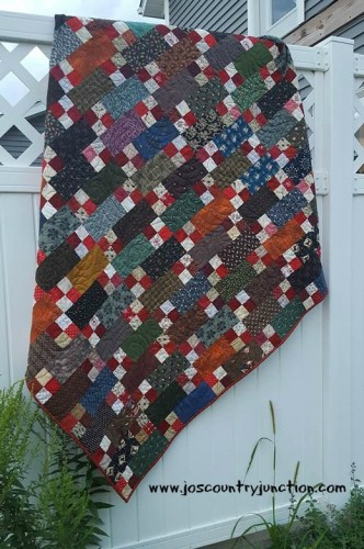 Quilt Finish Bricks And Stepping Stones