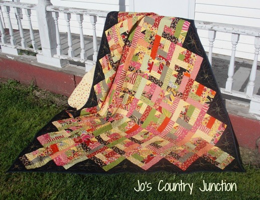 Quilter s fun free quilt pattern scrap buster country placemat